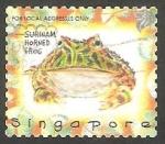 Sellos de Asia - Singapur -  859 - Rana