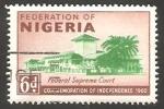 Stamps : Africa : Nigeria :  95 - Commemoración de la Independencia, Corte suprema federal