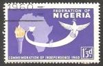 Stamps : Africa : Nigeria :  96 - Commemoración de la Independencia