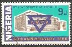 Stamps : Africa : Nigeria :  196 - 60 Anivº  de la Asociación cristiana de chicas jóvenes