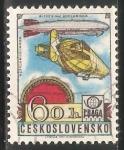 Sellos del Mundo : Europa : Checoslovaquia : zepeling