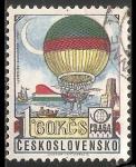 Sellos del Mundo : America : Checoslovaquia : Jeffries blanchard 1785