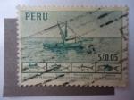 Stamps Peru -  Industria Pesquera del Perú.