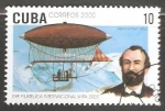 Stamps Cuba -  Exp. Filatelica Internacional Wpa. 2000