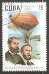 Stamps : America : Cuba :  Exp. Filatelica Wipa 2000