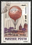 Stamps India -  Kite Balloon, 1896