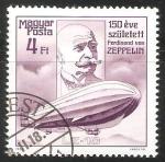 Sellos de Europa - Hungría -  Ferdinand von Zeppelin