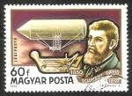 Sellos de Europa - Hungría -  Dávid Schwarz