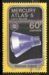 Sellos de Europa - Hungría -  Mercury Atlas - 5