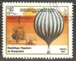 Sellos de Asia - Camboya -  200th Anniversary of ballooning