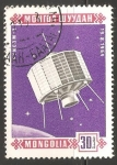 Stamps Mongolia -  Syncom 3