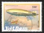 Sellos de Asia - Vietnam -  Air ships