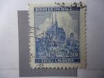 Stamps Germany -  Brün - Brno - Cechy a Morava.