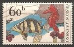 Sellos de Europa - Checoslovaquia -  Caballo marino