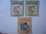 Stamps Colombia -  Café - Departamento de Caldas.