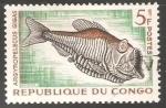 Sellos del Mundo : Africa : República_del_Congo : Argyropelecus gigas
