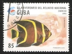 Stamps Cuba -  35 Aniversario del acuario nacional
