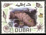 Stamps : Asia : United_Arab_Emirates :  Spotted Grouper