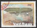 Stamps : Asia : Vietnam :  1128 - Dirigible
