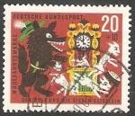 Stamps Germany -  282 - Cuento, El lobo y los siete corderos, de Los Hermanos Grimm