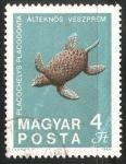 Sellos de Europa - Hungría -  Placochelys Placodonta