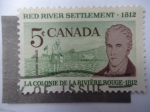 Sellos de America - Canadá -  Red River Settlement 1812.