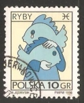 Stamps Poland -  Pisces