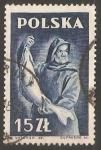 Sellos de Europa - Polonia -  pez