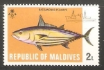 Sellos del Mundo : Asia : Maldivas : Katsuwonus Pelamys