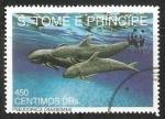 Stamps : Africa : São_Tomé_and_Príncipe :  Pseudoraca