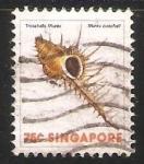 Sellos del Mundo : Asia : Singapur : troschel's murex-Murex troscheli