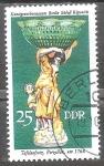 Sellos del Mundo : Europa : Alemania :  Museo de Artes Decorativas Berlin Schloss Köpenick-DDR.