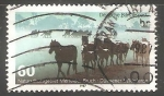 Sellos de Europa - Alemania -  Dülmen Ponys in the Nature Reserve Merfelder Bruch