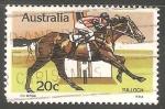 Stamps Australia -  Tulloc