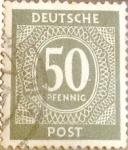 Sellos de Europa - Alemania -  22 - Cifra