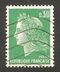 Stamps France -  1611 - Marianne de Cheffer