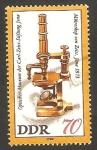 Stamps Germany -  2195 - Microscopio de Zeiss