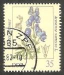 Stamps Germany -  2345 - Planta venenosa