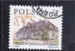Stamps Poland -  mansión en Janowcu