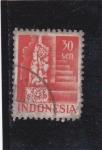 Sellos del Mundo : Asia : Indonesia :  figura