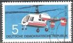 Sellos de Europa - Alemania -  Tipos de aeronaves, KA-26 (DDR).