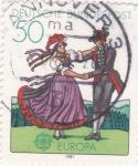 Sellos de Europa - Alemania -  EUROPA CEPT- baile típico
