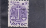 Stamps : Asia : Israel :  horóscopo
