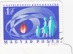 Stamps Hungary -  ilustración