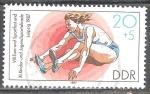 Sellos del Mundo : Europa : Alemania :  VIII.Festival de Gimnasia y deportes y XI. Infantil y Juvenil de Leipzig 1987-DDR.