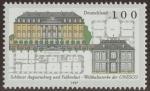 Stamps Germany -  ALEMANIA - Castillos de Augustusburg y Falkenlust en Brühl