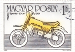 Stamps Hungary -  motocicleta