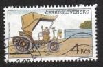 Sellos del Mundo : Europa : Checoslovaquia : Carros Hitóricos