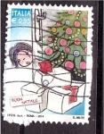 Sellos de Europa - Italia -  Navidad