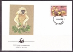 Stamps Bhutan -  WWF